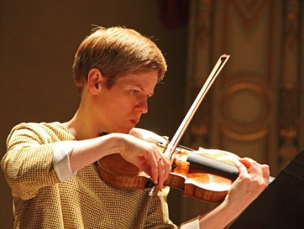 Photo: Isabelle Faust, courtesy of Vancouver Symphony Orchestra.