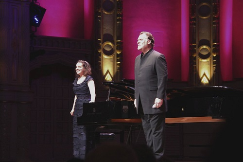 Bryn Terfel and Natalia Katyukova (courtesy of Vancouver Recital Society)
