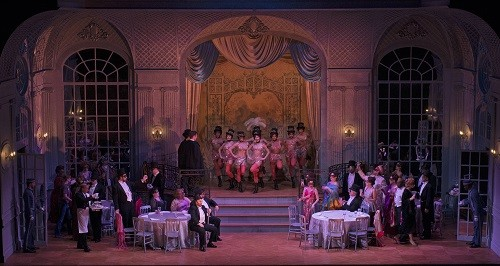'Die Fledermaus' at Cincinnati Opera (Photo courtesy Cincinnati Opera)