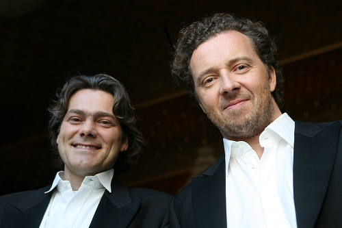 Christian Gerhaher (right) and Gerold Huber (left) © Alexander Basta.