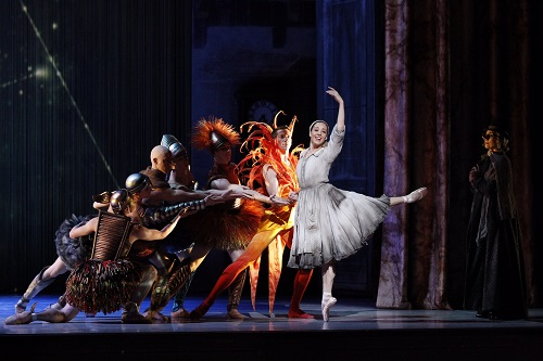 Leanne Stojmenov as Cinderella- photo by Jeff Busby