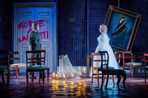 Stephanie Marshall as Romeo and Sarah-Jane Brandon as Giulietta, Buxton Festival . Photo credit: Robert Workman.