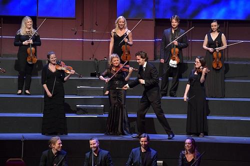 Nicholas Collon and the Aurora Orchestra. Photo credit: Chris Christodoulou.