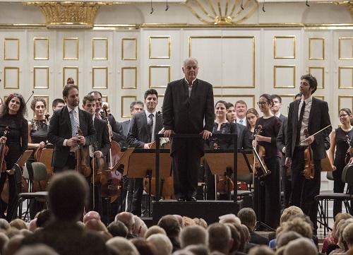 West-Eastern Divan Orchestra/Daniel Barenboim. Credit: Salzburger Festspiele - Marco Borrelli.