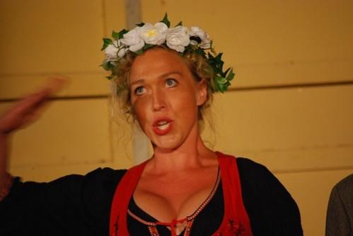 Paulina Pfeiffer as Uggle-Carin. Credit: Göran Forsling.
