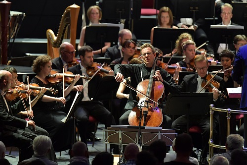 Cellist Johannes Moser performs Dutilleux's 'Tout un monde lointain…' with the BBC Philharmonic at the BBC Proms 2016