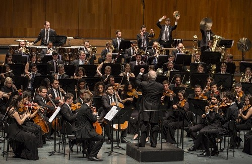 West-Eastern Divan Orchestra/Daniel Barenboim. Photo credit: Marco Borrelli.