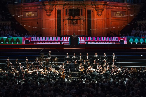 "Gastspiel der Staatskapelle Dresden am 07.09.2016 bei den "" BBC PROMS "" in der Royal Albert Hall in London / Grossbritannien . Foto: Oliver Killig"