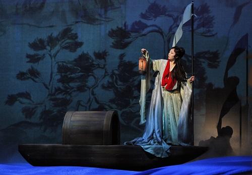 "Pureum Jo as Dai Yu in Sheng and Hwang's ""Dream of the Red Chamber"" ©Cory Weaver/San Francisco Opera"