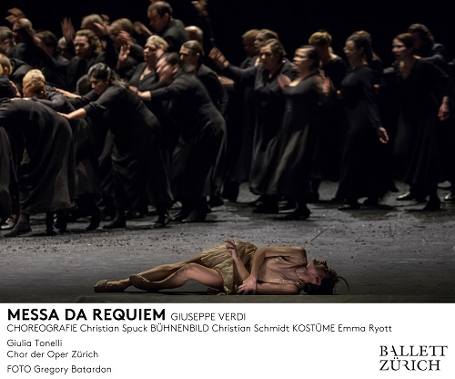 Ballett Zürich - Messa da Requiem - 2016/17 © Gregory Batardon