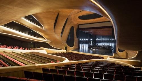 Harbin Grand Theatre © Iwan Baan.