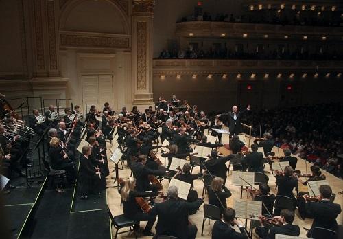 Daniel Barenboim and the Staatskapelle Berlin perform Bruckner's First Symphony at Carnegie Hall (Photo: Steve J. Sherman)