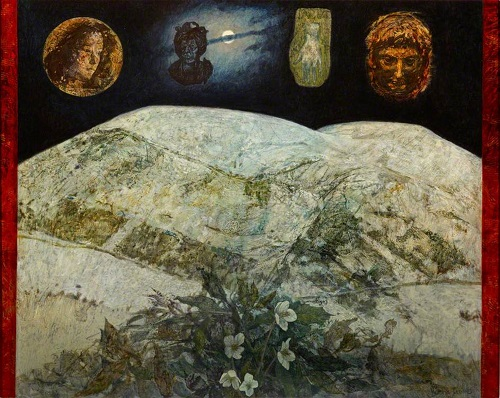 Victoria Crowe, 'Into an Older Land'; (c) Royal Scottish Academy of Art & Architecture