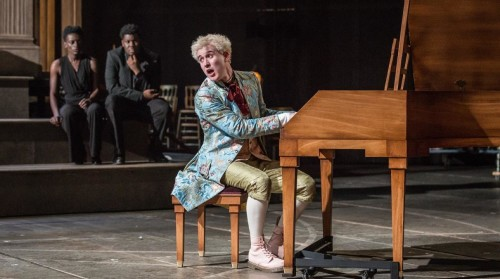 Adam Gillen as Mozart, photo by Marc Brenner