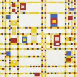 Piet Mondrian, ''Broadway Boogie Woogie' (1942-43)