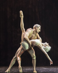 Giuliano Contadini as Casanova and Dreda Blow as Bellino in Casanova. Photo Caroline Holden