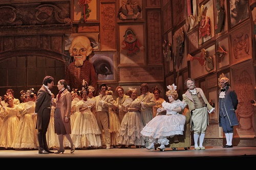 The Tales of Hoffmann: photo credit - Ken Howard/LA Opera.