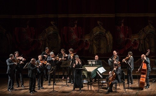 Romina Basso and Venice Baroque Orchestra for Mozarteum Argentino at Teatro Colón. (Photo Liliana Morsia)