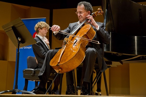Jan Liesecki and Denis Brott (Photo: Victor Brott)