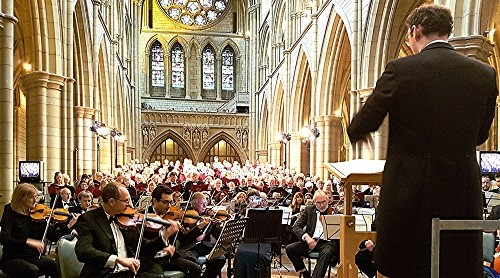 'Elijah' at Truro Cathedral - credit Philip R Buttall
