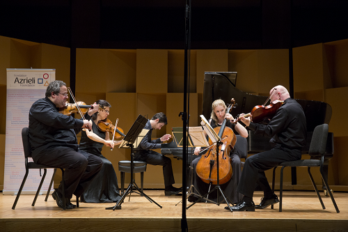 Israeli Chamber Project at the Montréal Chamber Music Festival (Photo: Victor Brott)