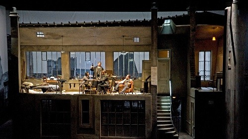 Cincinnati Opera's production of Puccini's La Bohème (Photo: Philip Groshong)