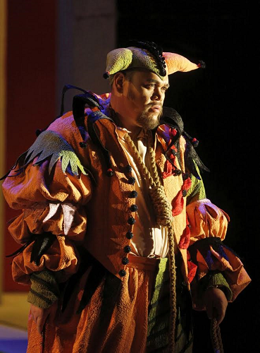 Quinn Kelsey in the title role of Verdi's 'Rigoletto' (Photo: Cory Weaver/San Francisco Opera)