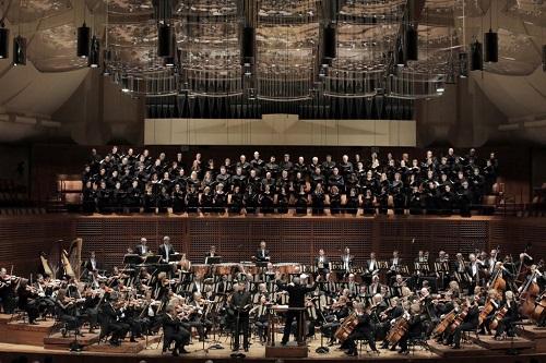Michael Tilson Thomas and the San Francisco Symphony in Berlioz's Roméo et Juliette (c) Cory Weaver
