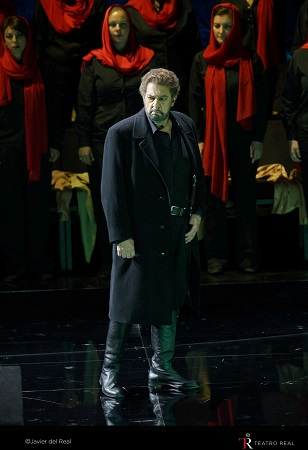Plácido Domingo as Macbeth © J. del Real
