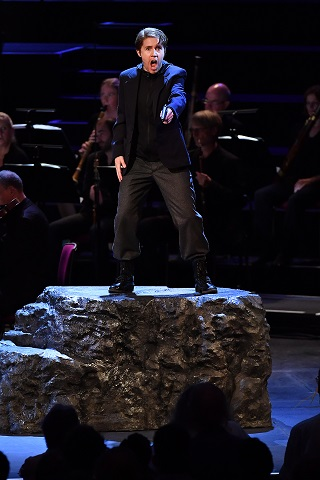 performs the role of Sextus in Mozart's La clemenza di Tito with the Orchestra of the Age of Enlightenment under conductor Robin Ticciati at the BBC Proms. Photo credit - Chris Christodoulou.