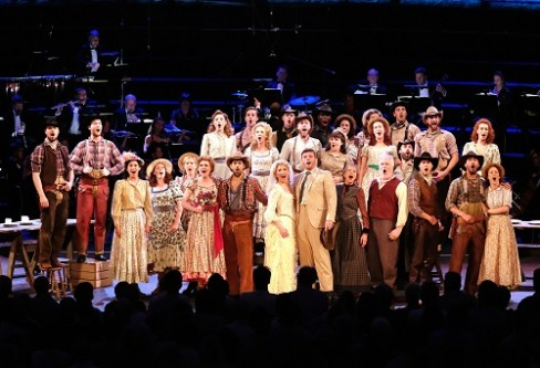 The cast of Proms 34 & 35: John Wilson conducts Oklahoma! at the 2017 BBC Proms Photo by Mark Allan