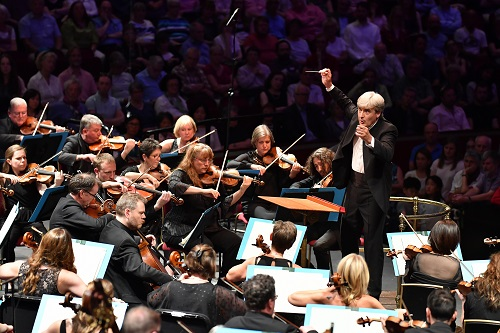 Thomas Dausgaard conducts the BBC Scottish Symphony Orchestra; photo credit - Chris Christodoulou.
