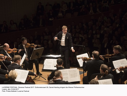 LUCERNE FESTIVAL, Sommer Festival 2017: Sinfoniekonzert 29, Daniel Harding dirigiert die Wiener Philharmoniker Luzern, den 10.09.2017 Foto: Priska Ketterer/ Lucerne Festival