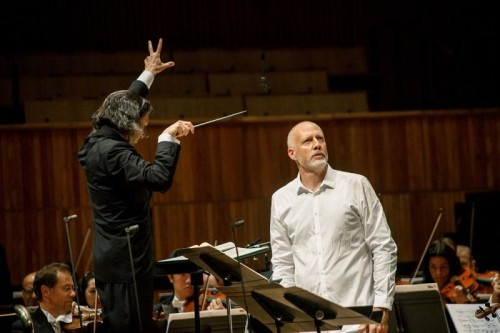 Paul Gay as 'Oedipe' with Vladimir Jurwoski conducting LPO at RFH