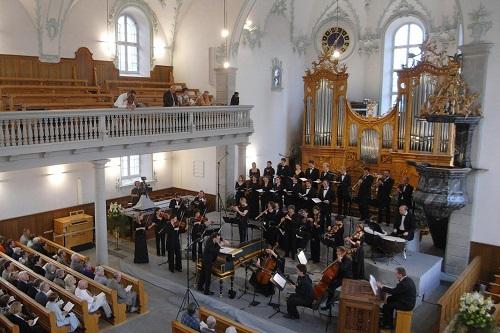 Reformed Church, Trogen, Switzerland © J.S. Bach-Stiftung.