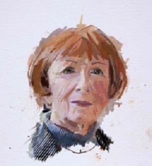 Portrait of Pamela Majaro by Eileen Hogan
