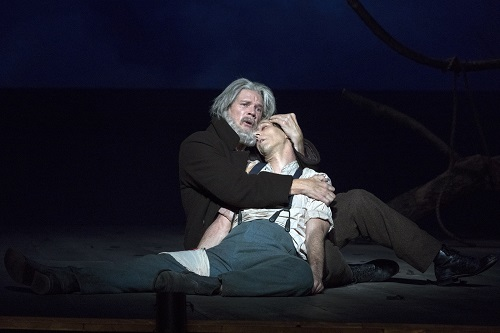 Rod Gilfry & Alexander Lewis in Crossing © Richard Termine