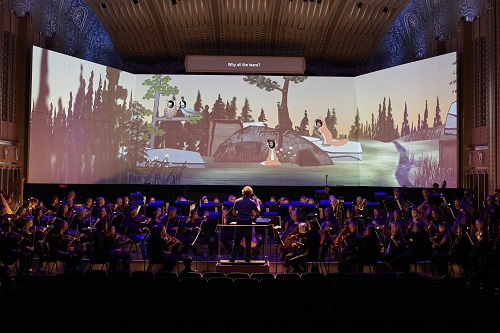 The Cleveland Orchestra revival of 'The Cunning Little Vixen' (Photo courtesy of The Cleveland Orchestra, copyright Roger Mastroianni)