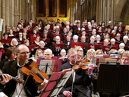 Three Spires Singers and Orchestra (c) Philip R Buttall