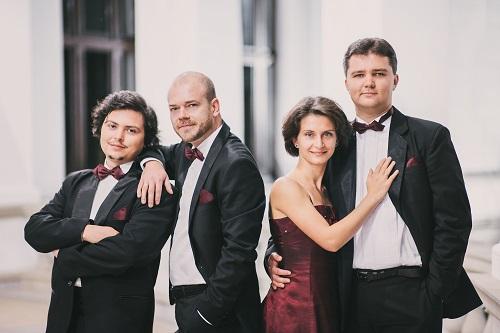 Arcadia Quartet (l-r: Răsvan Dumitru, Traian Boală, Ana Török, Zsolt Török)