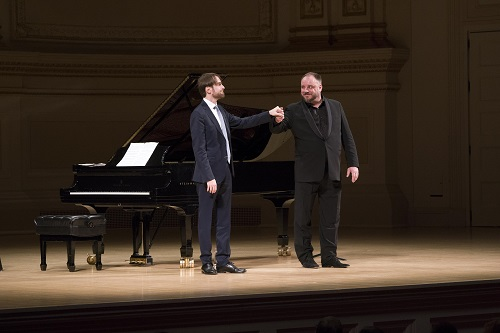 Daniil Trifonov and Matthias Goerne © Richard Termine