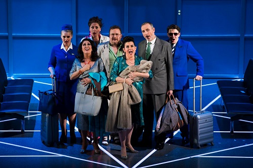 Cast of Flight (c) Scottish Opera