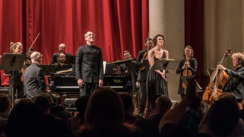 Songs for Nancy concert St John's Smith Square, 7 Mar 18, photo Roger Way