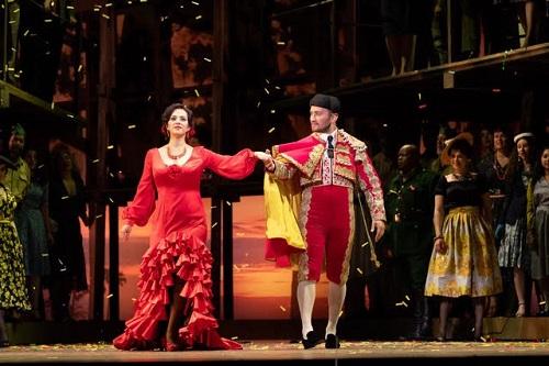 Daniela Mack and Adrian Timpau in Carmen © Steven Pisano