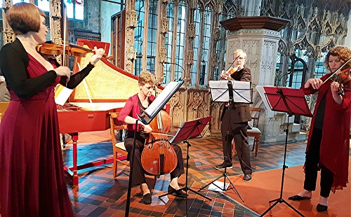 Devon Baroque Chamber Ensemble (c) Philip R. Buttall