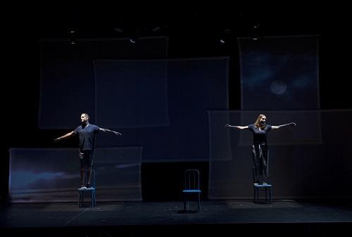 Matthew Worth and Amber Frasquette in As One (Photo courtesy Cincinnati Opera)