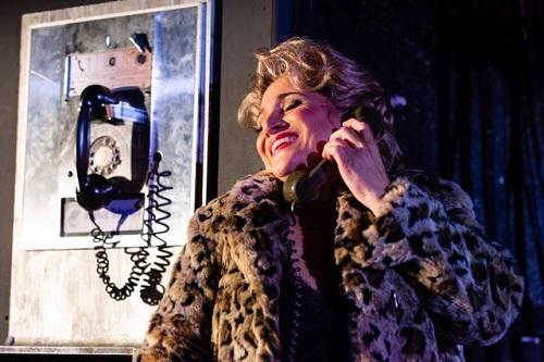 Patricia Racette (Elle) in La voix humaine © Opera Philadelphia