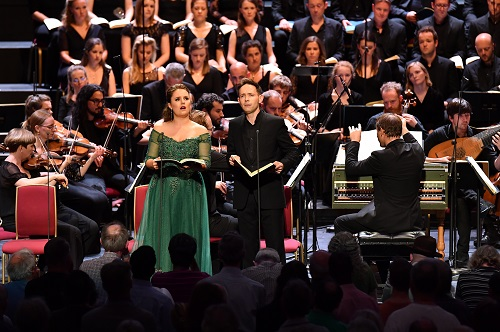 Louise Alder and Iestyn Davies (c) BBC/Chris Christodoulou