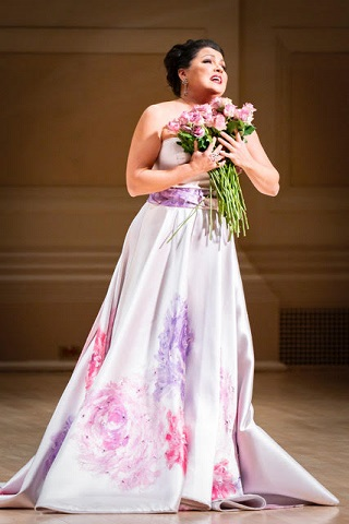 Anna Netrebko at Carnegie Hall © Chris Lee