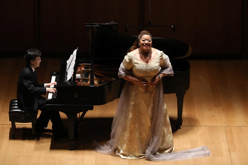 Michelle Bradey (soprano) and Ken Noda (piano) © Mark Von Holden